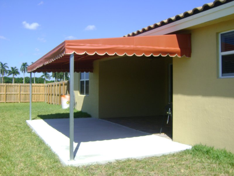 Backyard Awnings Miami : Residential Awnings in Miami  Sunshine Awnings Miami